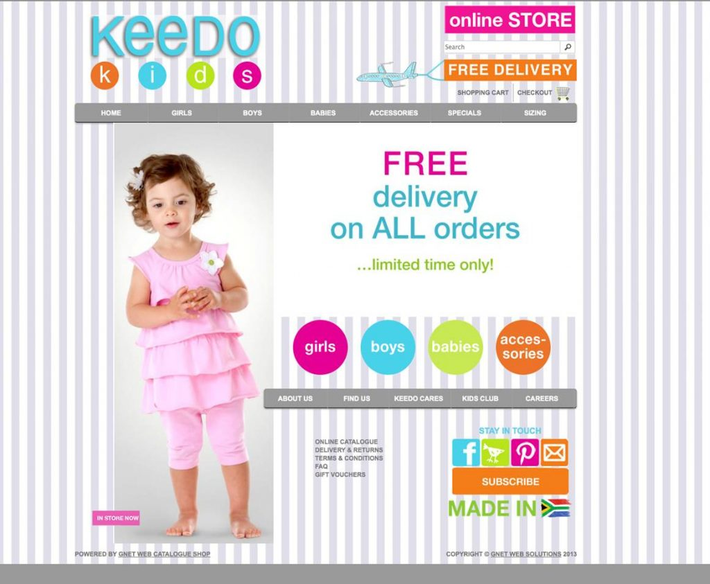 NEW Keedo website 2