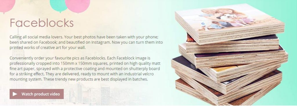 FaceBlocks Info
