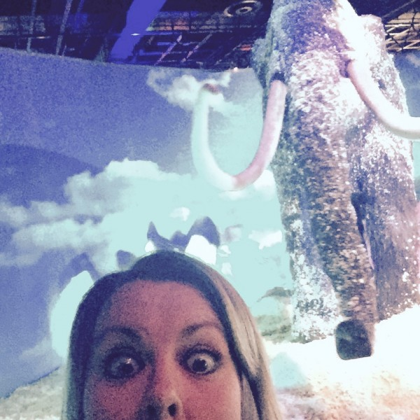 A Woolly Mammoth Selfie!
