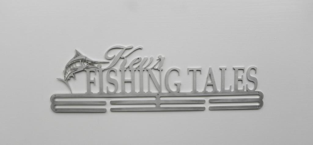 SA Medal Hangers Kev's Fishing Tales