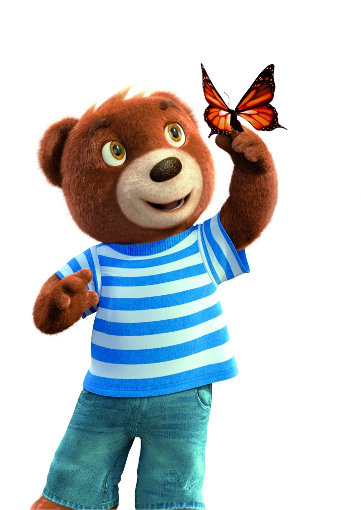 Barni with Butterfly