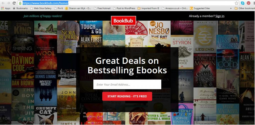 BookBub Website