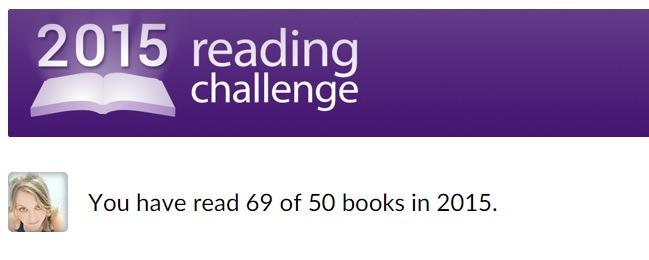 Good Reads 2015 Reading Challenge