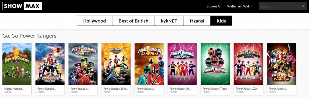 Even the Power Rangers.